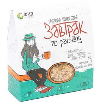 Гранола кокосовая Завтрак по расчёту 250 гр.