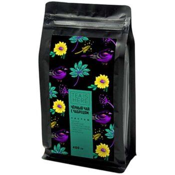 Чай TEA IS HERE Чёрный с чабрецом 400 гр.