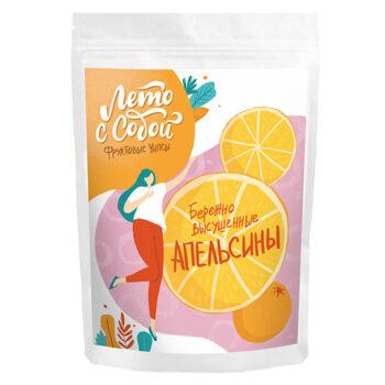 Фруктовые чипсы Лето с собой Апельсины 25гр
