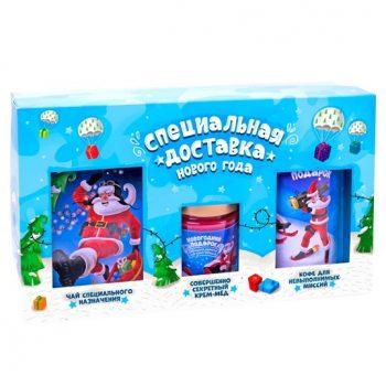 Подарочный набор из 3 продуктов - Специальная доставка Нового Года