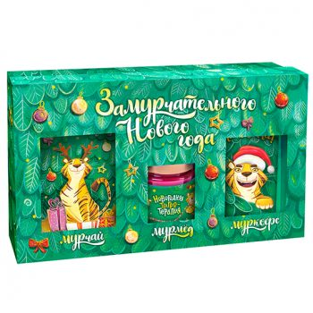Подарочный набор из 3 продуктов - Замурчательного нового года